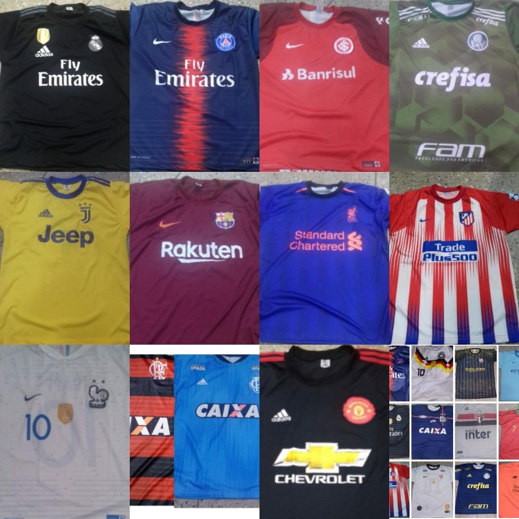 5 Camisas Ou Conjunto Infantil De Time Futebol Revenda - R  138 bffbcdaddfb16