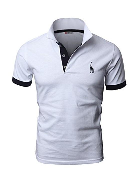 5 Camisas Polo Giraffe Cores Variadas - R  169 0d4e60bc83b8f