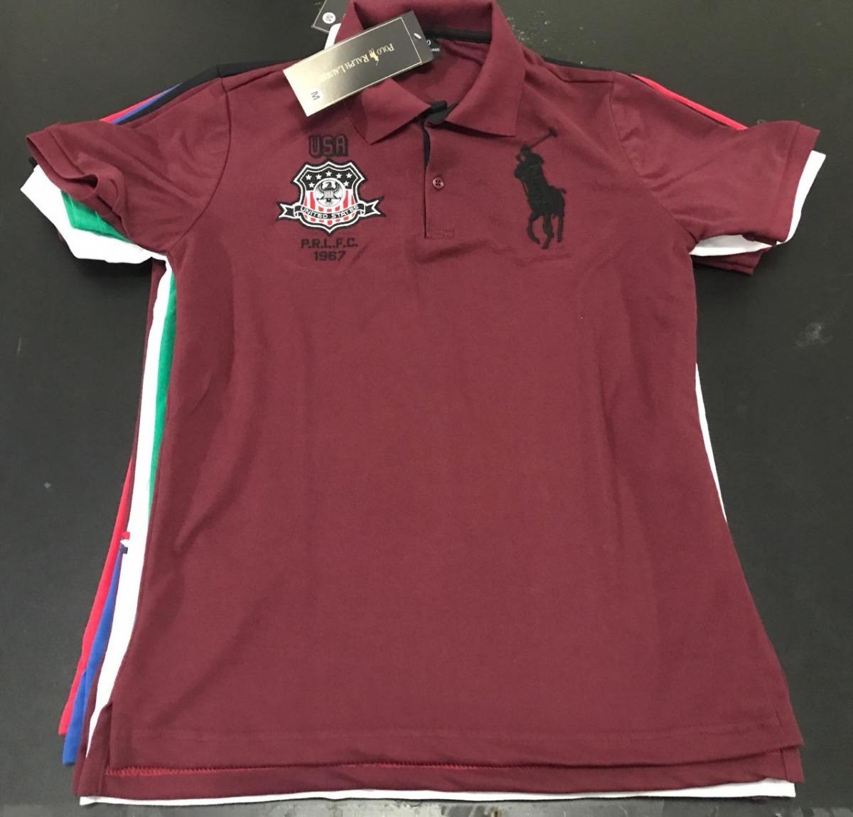 5 camisas polo masculina camisetas blusas marcas famosas. Carregando zoom. 6f98520b8e80e