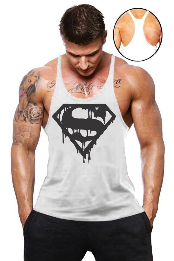 7e3bbdb5076c6 5 camisas regatas super cavada homem academia animal. Carregando zoom.