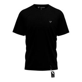 5 Camiseta Masculina Camisas Slim Voker 100% Algodão Atacado