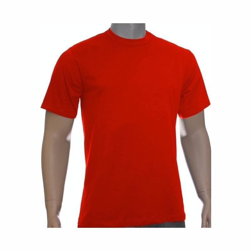 f25f76b655241 5 Camisetas Básica Fio 30.1 100% Algodão-colorida-estampar - R  69 ...
