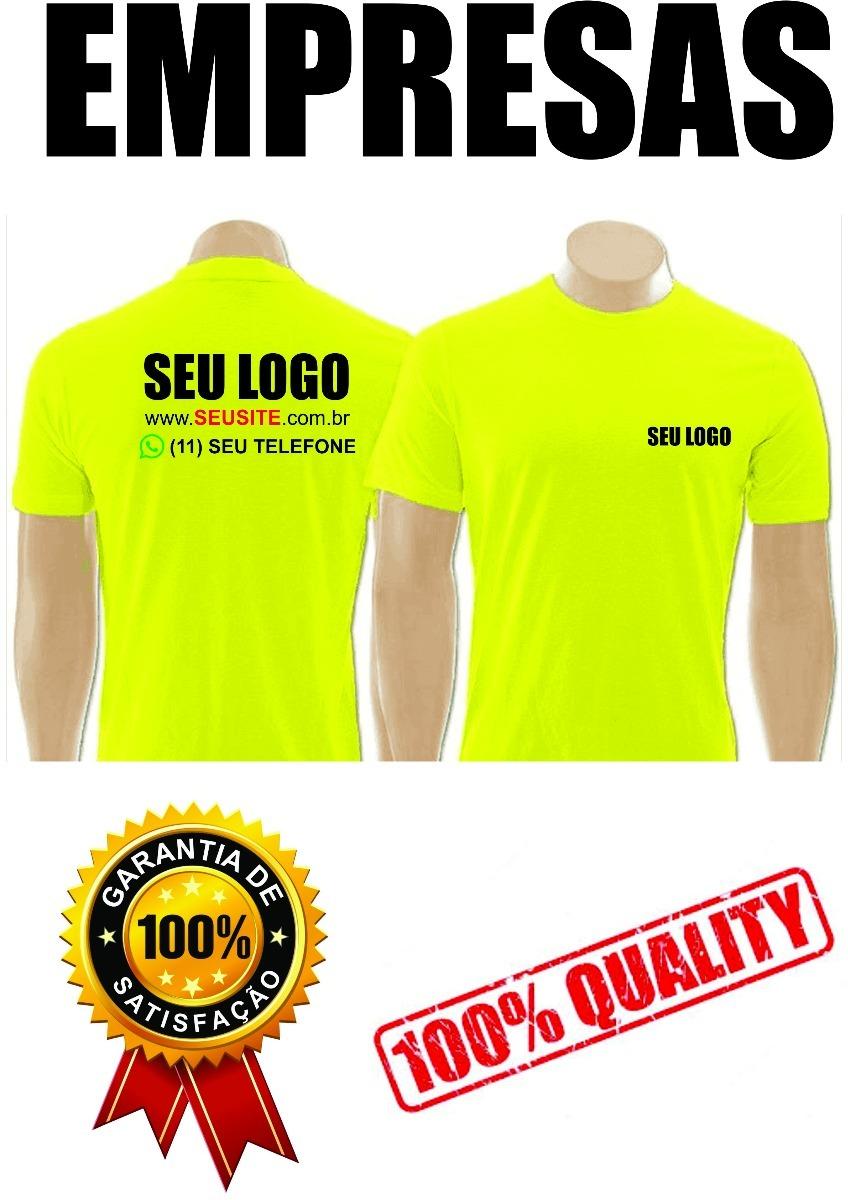 301405e880 5 camisetas personalizadas uniformes empresas com seu logo. Carregando zoom.