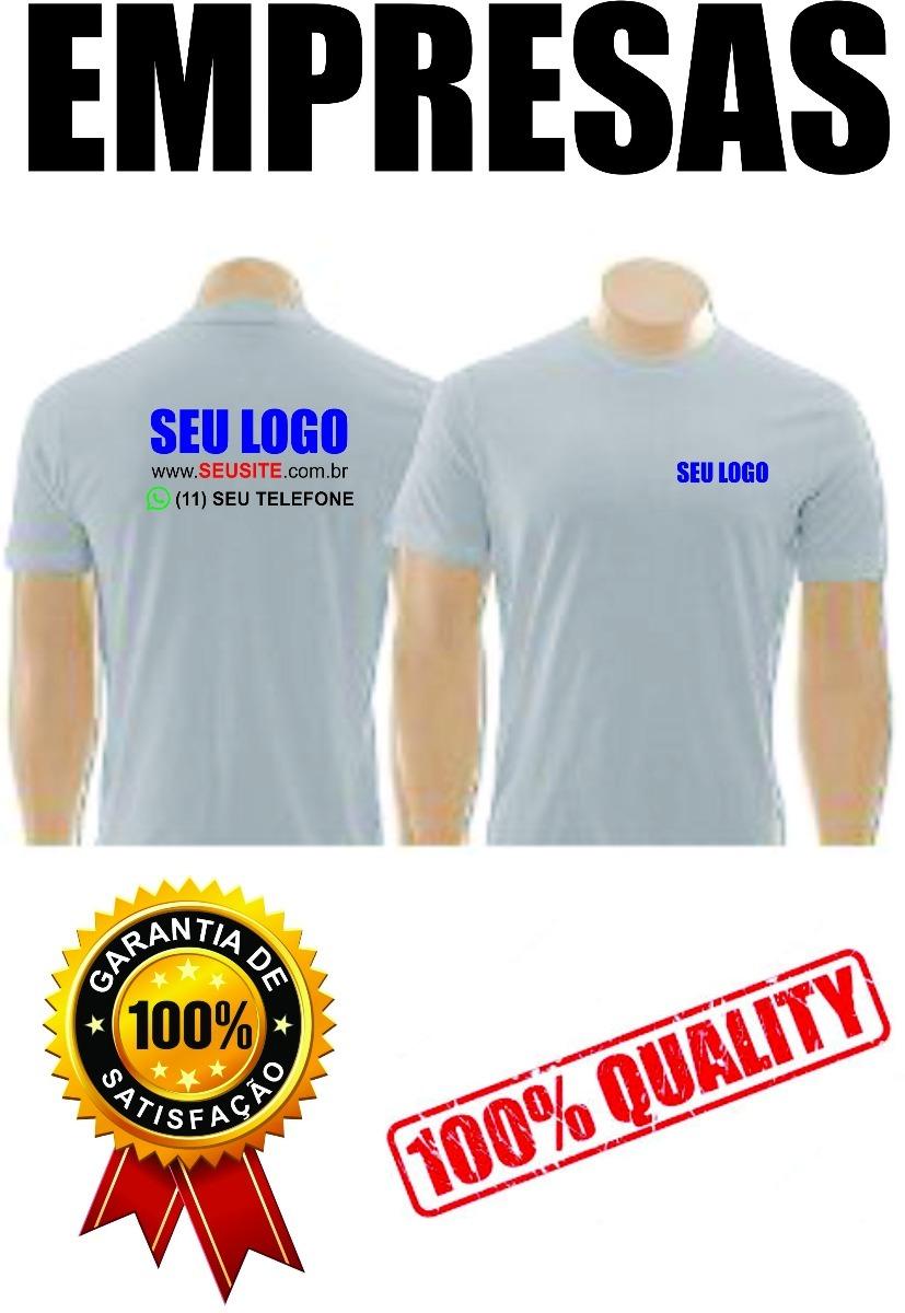 5fe00f20ef 5 camisetas personalizadas uniformes empresas com seu logo. Carregando zoom.