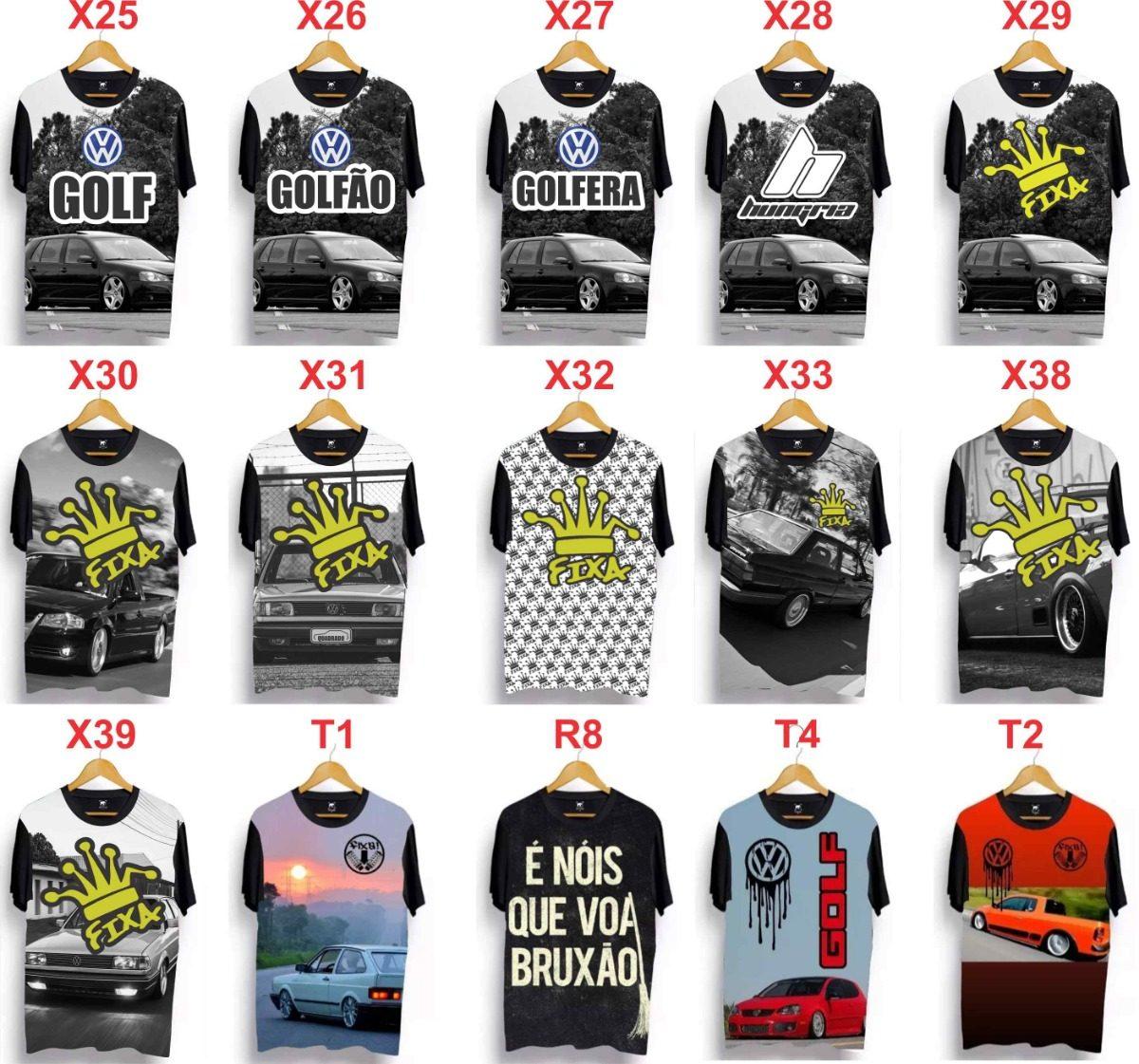 5 camisetas vários modelos carro rebaixado fixa fusca ydias. Carregando  zoom. d83722f65cb61