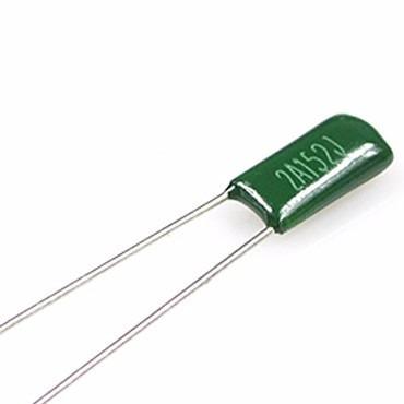 5 capacitores condensador poliester 1.5nf 100v arduino pic