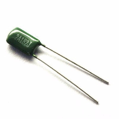 5 capacitores condensador poliester 1.8nf 100v arduino pic