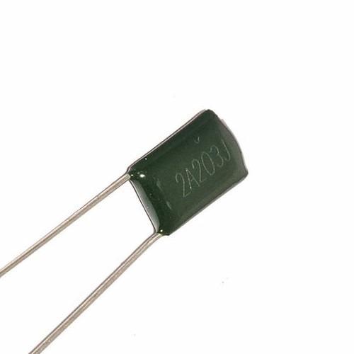 5 capacitores condensador poliester 20nf 100v arduino pic