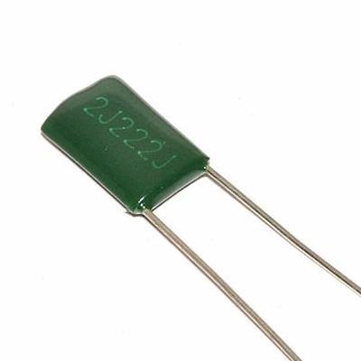 5 capacitores condensador poliester 2.2nf 630v arduino pic