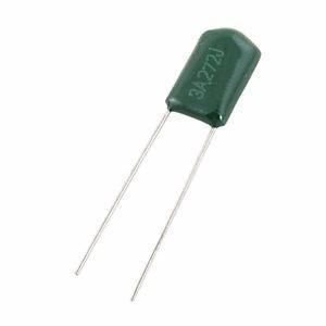 5 capacitores condensador poliester 2.7nf 1000v arduino pic