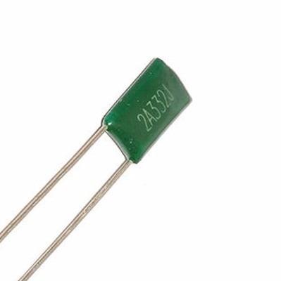 5 capacitores condensador poliester 3.3nf 1000v arduino pic