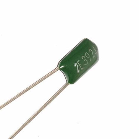 5 capacitores condensador poliester 3.9nf 250v arduino pic