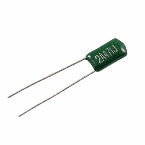 5 capacitores condensador poliester 470pf 100v arduino pic