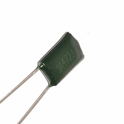 5 capacitores condensador poliester 4.7nf 1000v arduino pic