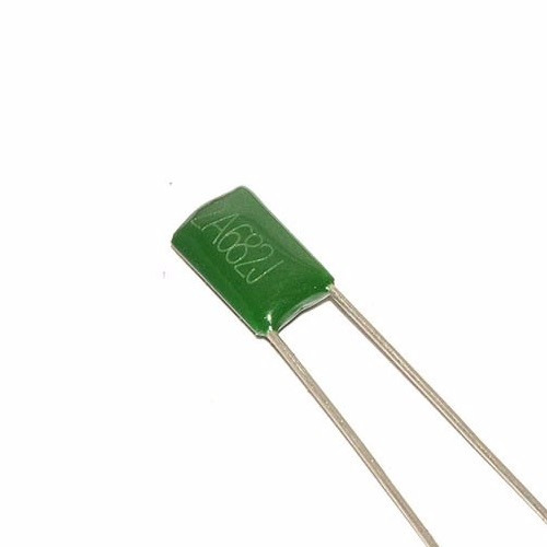 5 capacitores condensador poliester 6.8nf 100v arduino pic