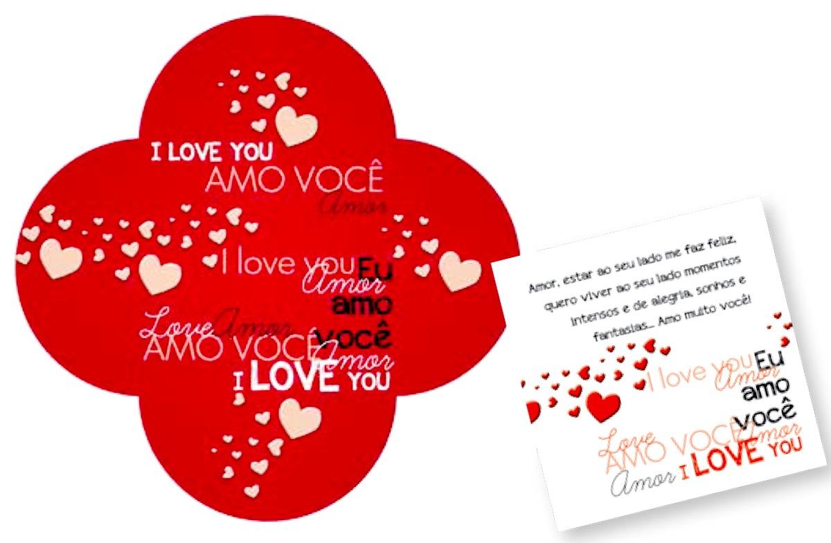 Cartao De Amor Para Photoshop: 5 Cartões De Amor Diferenciados