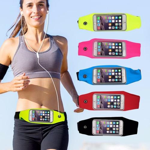 5 case pochete corrida esportiva cintura iphone 6s 6 plus
