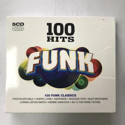 5 cd musica 100 exitos originales funk blues sony music