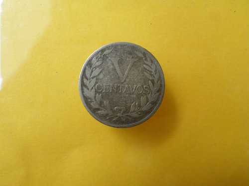5 centavos 1946 bonita
