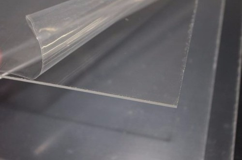 5 chapas de acetato transparente 1m x 50cm - 2 mm de espessu