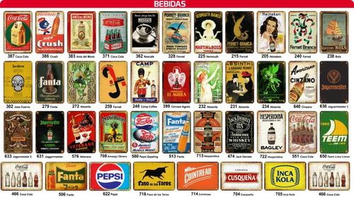 5 chapas retro cuadros antiguas vintage posters deco!