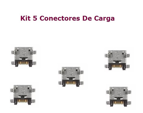 5 conector de carga micro-usb samsung galaxy gran duos 2 tv