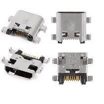 5 conectores de carga original p/celular samsung sm-g355m/ds