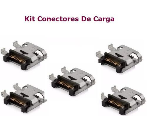 5 conectores de carga original p/smartphone samsung gt-s5310