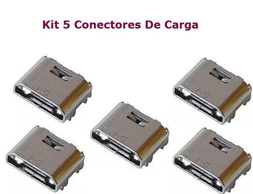 5 conectores de carga original samsung gt-i9063 com garantia
