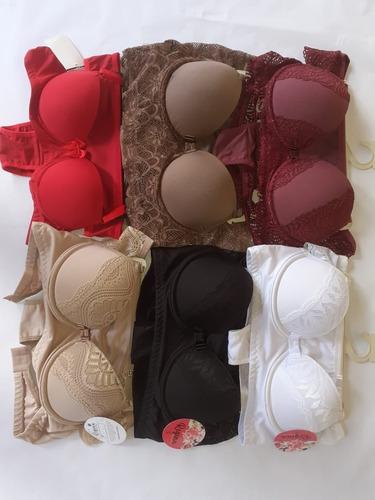 5 conjunto lingerie sexy sutia bojo calcinha luxo atacado