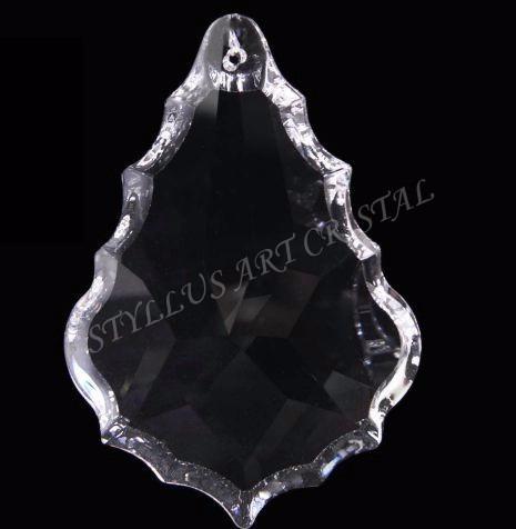 5 cristal asfour placa bacalhau 7,6 cm para lustres.