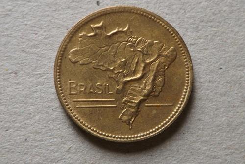 5 cruzeiros 1943- bronze aluminio