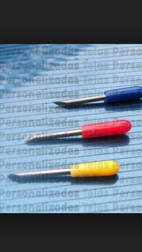 5 cuchillas para plotter de corte uscutter,gcc,red sail,etc