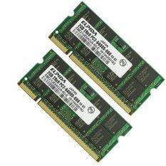 5 ddr2 2gb 2 de 800mhz y 3 de 667mhz laptop 10gb en total