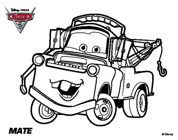 5 Dibujos Para Colorear Cars   $ 5.00 en Mercado Libre