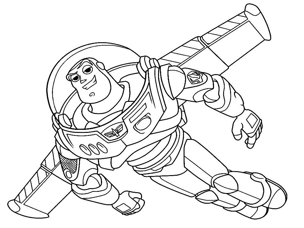 Dibujos De Toy Story 1 Para Colorear Dibujos Para Colorear Toy