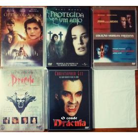 5 Dvd's=6 Filmes Orig/terror/mistérios! Bom Bonito E Barato