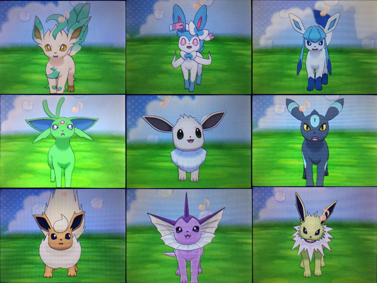 5 Eevee Pokemon Shiny Para Pokemon Sol Y Luna 6 Iv - $ 10 ...
