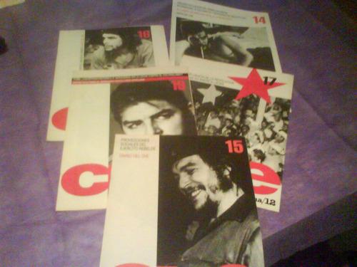 5 fascículos del che. edición de página/12