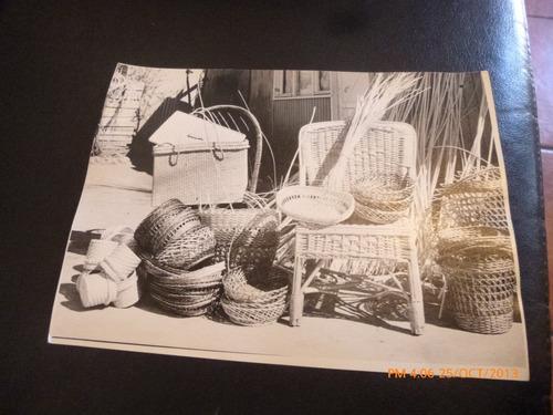 5 fotos de artesania chilena años 80