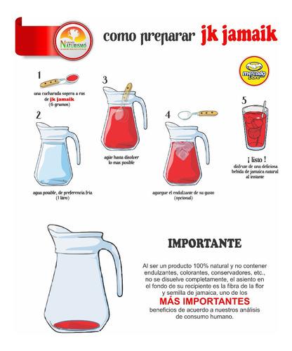 5 frascos de jk jamaik, 27 litros, producto natural