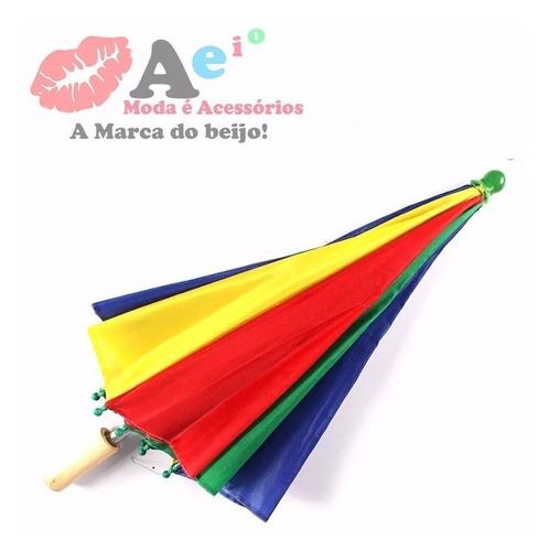 5 frevo mini sombrinha para dança decoração carnaval aeio@