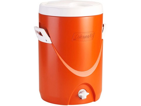 5 gallon beverage cooler orange coleman