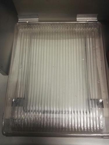 5 ganchos interline acanalada ranurada plástico 30*20*8 cm