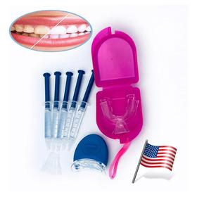 5 Gel Clareamento Dental + Led + 1 Par Moldeira Promoção