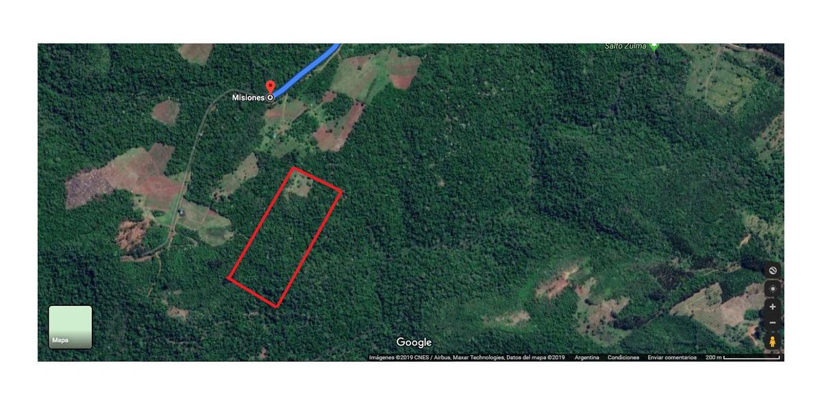 5 hectáreas, san vicente, misiones