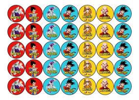 Torta Dragon Ball Z Souvenirs Para Es Comestible En Bs As