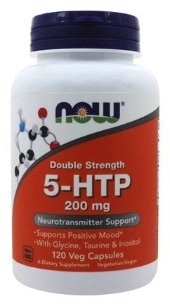 5-htp 200mg 120 cps now foods pronta entrega