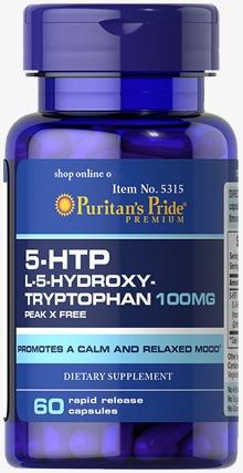 5 htp triptofano 100mg 60cap americano serotonina 5-htp gnc
