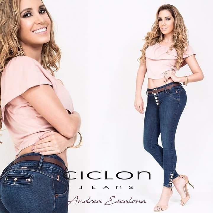 5 Jeans Ciclón Pantalón Colombiano Push Up Moda Mujer 0019 ... 835972f1168f